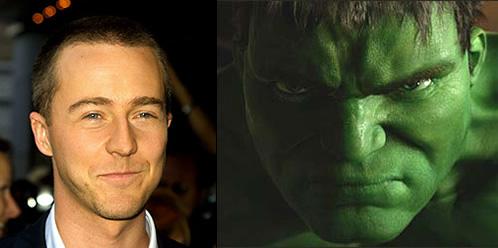 Edward Norton es el nuevo Hulk!